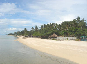 Ivory-white Sand Beaches