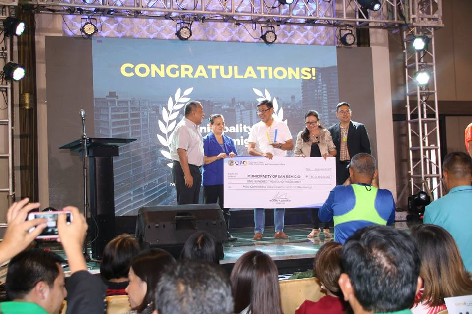 San Remigio Received Six Outstanding Awards from Cebu Province