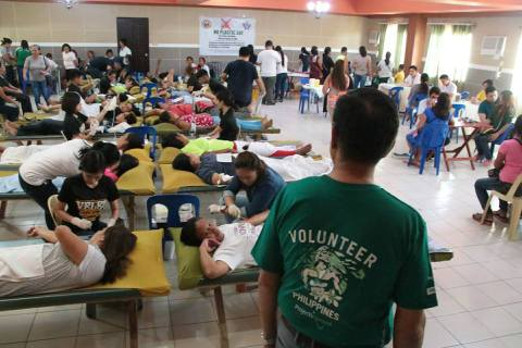 San Remigio Blood Donation Activity