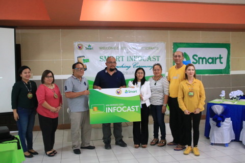 LGU San Remigio, Cebu Launches Smart Infocast Program
