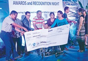Anapog resident gets Ocean Heroes Award