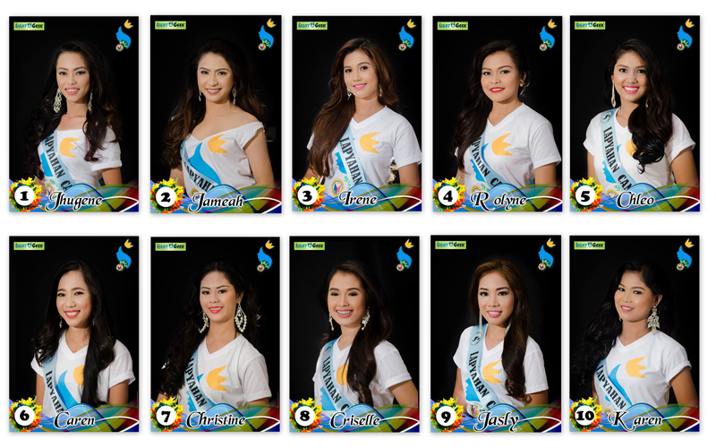 Lapyahan Festival Queen 2017 Official Candidates