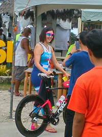 Pia Cayetano signs up for San Remigio triathlon